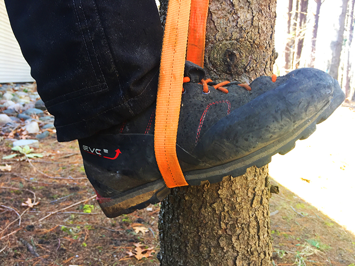 Webbing loops are essential gear for any climber